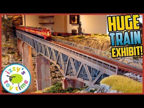 huge-model-train-exhibit!-houston-train-museum!