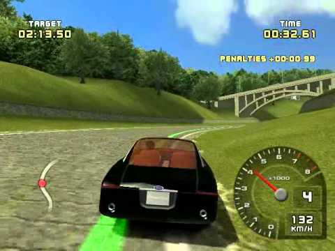 ford racing 2 for pc with my car : ford fortynine coucept 2001
