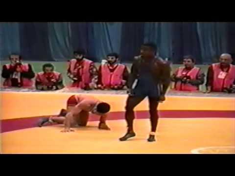 1994 Takhti Cup: 90 kg Final Rasul Khadem Azghadi (IRI) vs. Roberto Limonta Vargas (CUB)