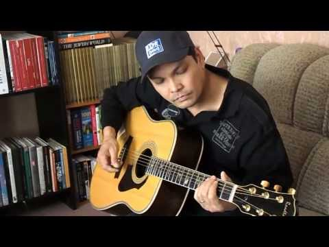 Wish You Were Here - Pink Floyd covered by CARLOS CASTRO using Roadtone Accoustic guitar