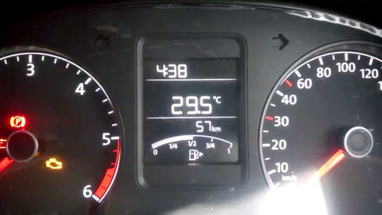 VW Polo DIY: Removing / upgrading the instrument cluster