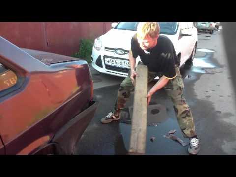 Смотреть онлайн Особенности ремонта бампера ВАЗ 21099