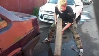 Особенности ремонта бампера ВАЗ 21099
