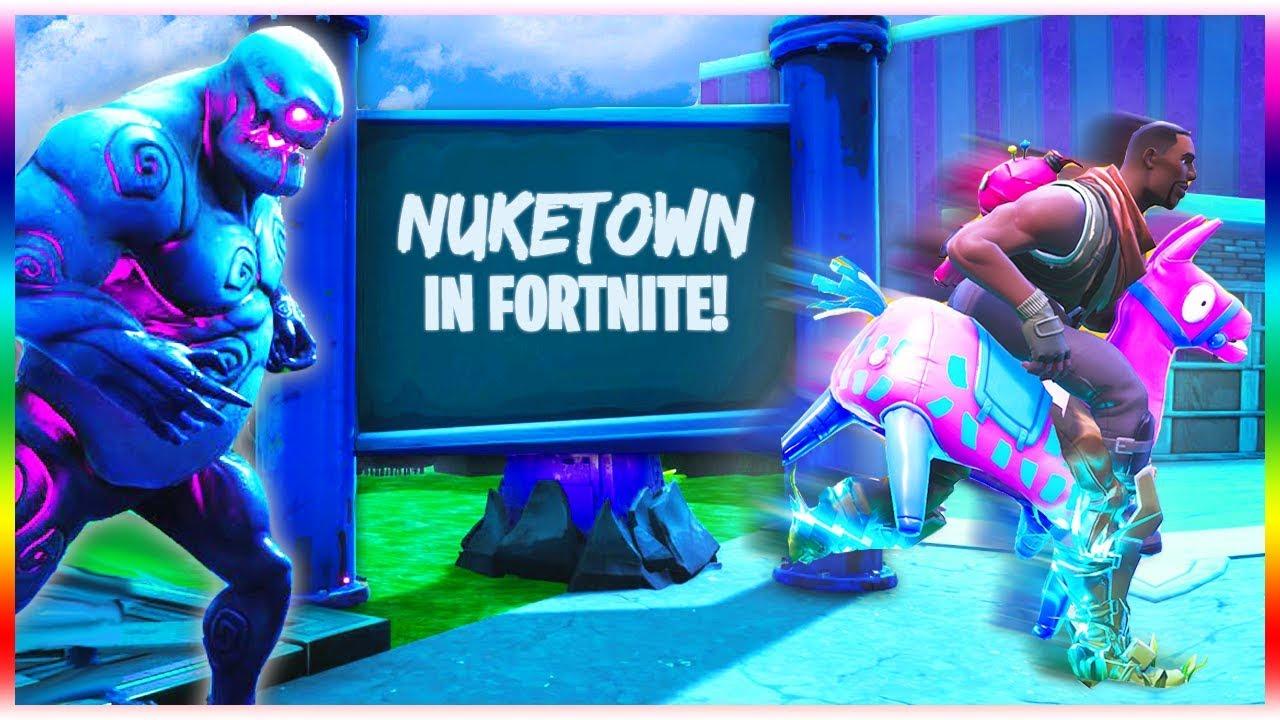 Nuketown Zombies In Fortnite Fortnite Creative Mode