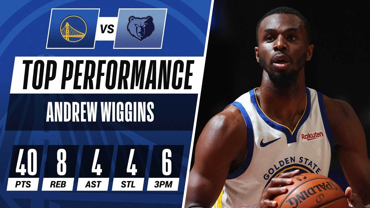 Andrew Wiggins Sets SEASON-HIGH With 40-PTS & 6 3PM!