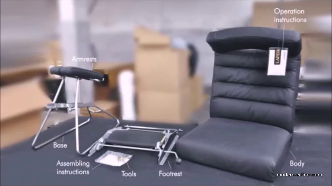 Adele Recliner Chair By Lafer Assembly Instructions (also Applies To Demir  Recliner)