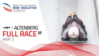 Altenberg | BMW IBSF World Championships 2021 - Men's Skeleton Heat 2 | IBSF Official