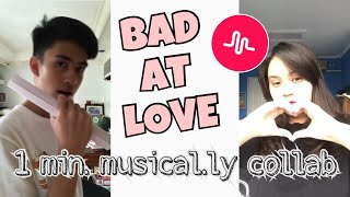 Bad At Love - Halsey [Musical.ly Cover]