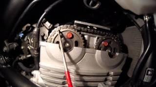 Kawasaki ER-6 Ninja 650 Rozrząd Timing chain Camshaft chain