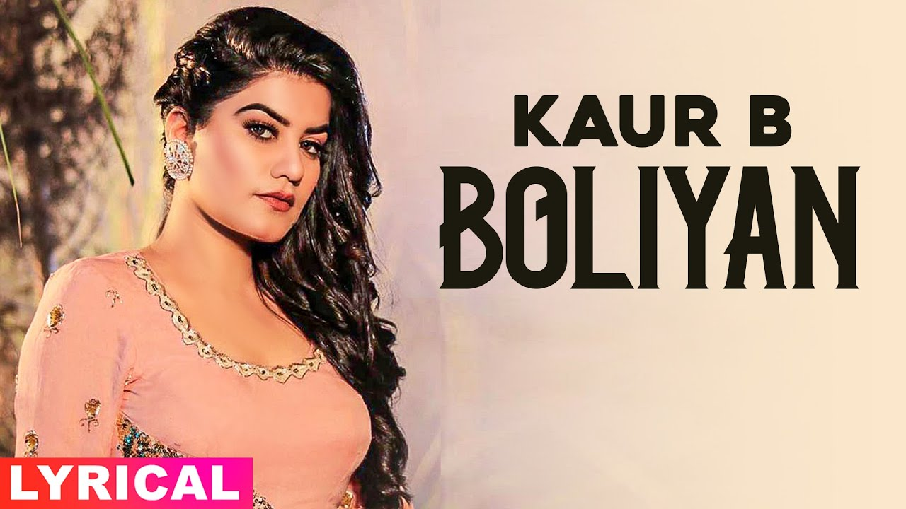Bolliyan (Lyrical) | Kaur B | Latest Punjabi Songs 2020 | Speed Records