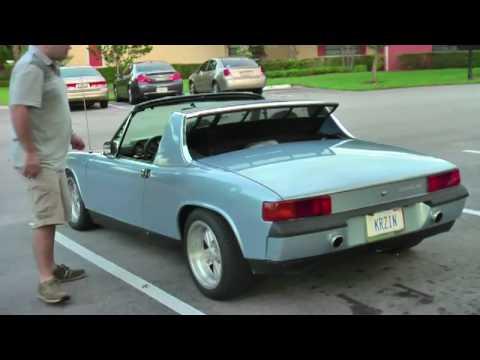 Porsche 914 v8 drive by - YouTube