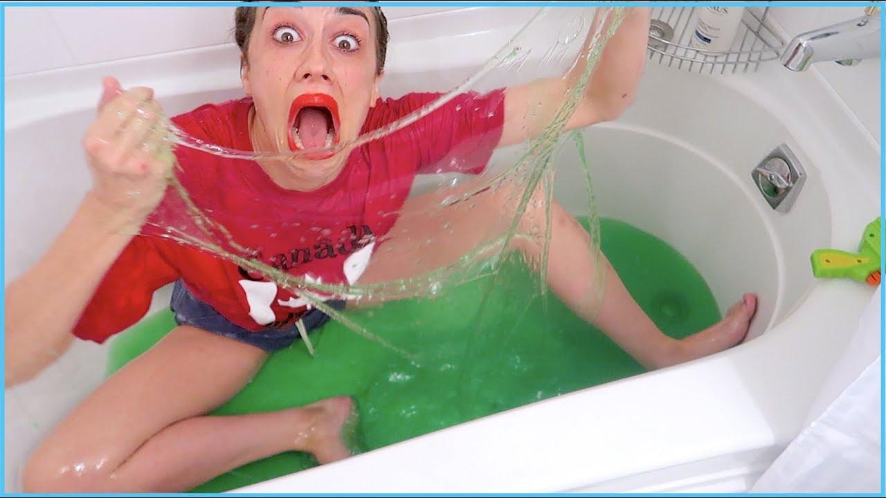 Slime bath porn
