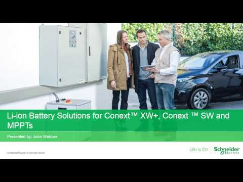[Webinar replay] Li-ion battery solutions