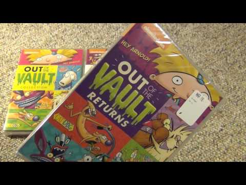 Nickelodeon Out of the Vault Returns DVD Unboxing from Shout! Factory