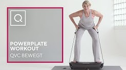 QVC Bewegt: Powerplate Workout mit Barbara Klein