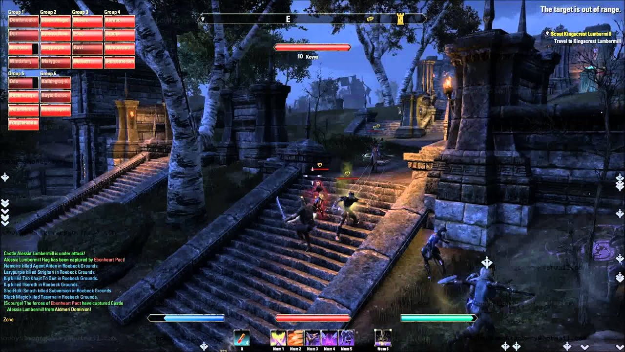 Elder Scrolls Online Kip Crowned Emperor Pvp Gameplay