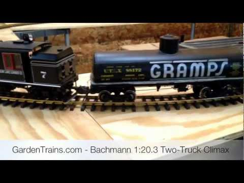 Garden Trains: #001 : Building an Indoor Large Scale Railroad : Freebie Railroad