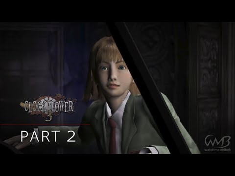 Clock Tower 3 Playthrough - Part 2 Sledgehammer Boss Fight (1st Stage)