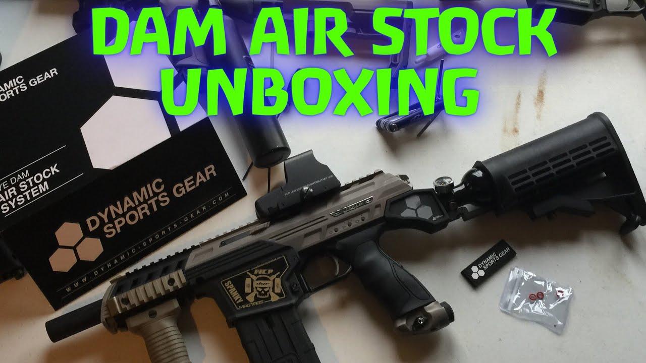DYE DAM Air Stock Unboxing Dynamic Sports Gear