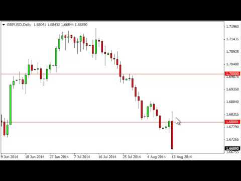 GBP/USD Technical Analysis for August 14, 2014 by FXEmpire.com