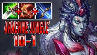 How To Play Arachne Jungle  SMITE Conquest Season 7