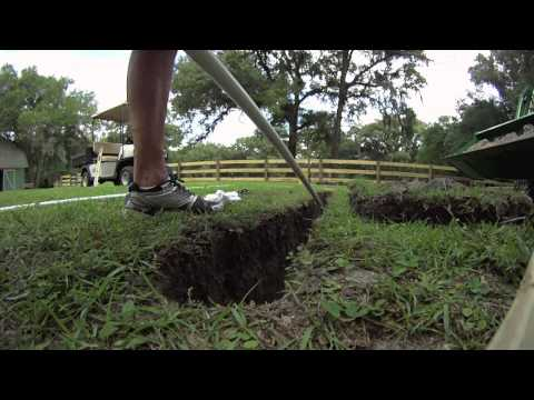 How To Trench Under Your Driveway To Install Wires For