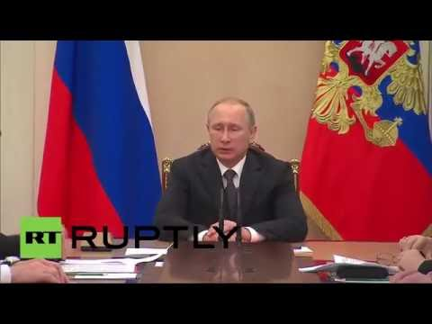 Russia: Putin discusses upcoming SCO summit with Security Council