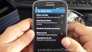 Cómo mejorar la señal de tu celular Samsung Galaxy S3