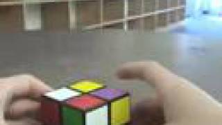 How to solve a 2x2x2 (2x2) Rubik