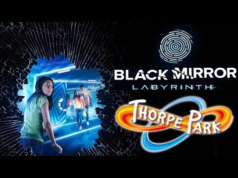 THORPE PARK New For 2020 - Black Mirror Labyrinth