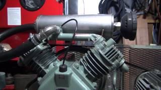 コンプレッサーの騒音対策! 単相200Vで動力モーターを駆動 コンプレッサー 検索動画 26