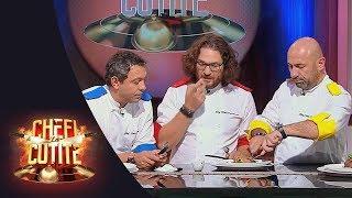Ultima degustare din semifinale, cea mai grea provocare pentru cei trei chefi: