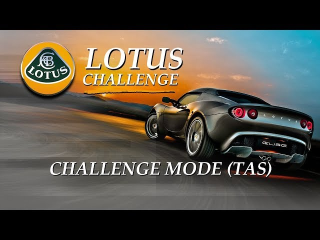 Lotus Challenge: Full Challenge Mode (TAS)