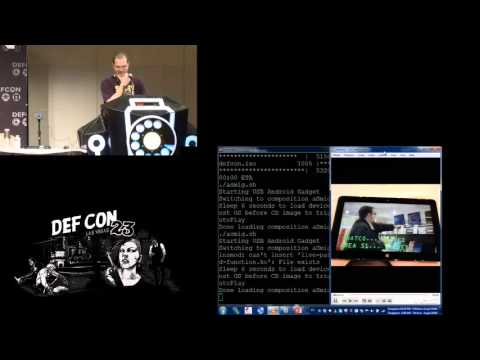 DEF CON 23 - Mickey Shkatov & Jesse Michael - Scared Poopless – LTE and your laptop