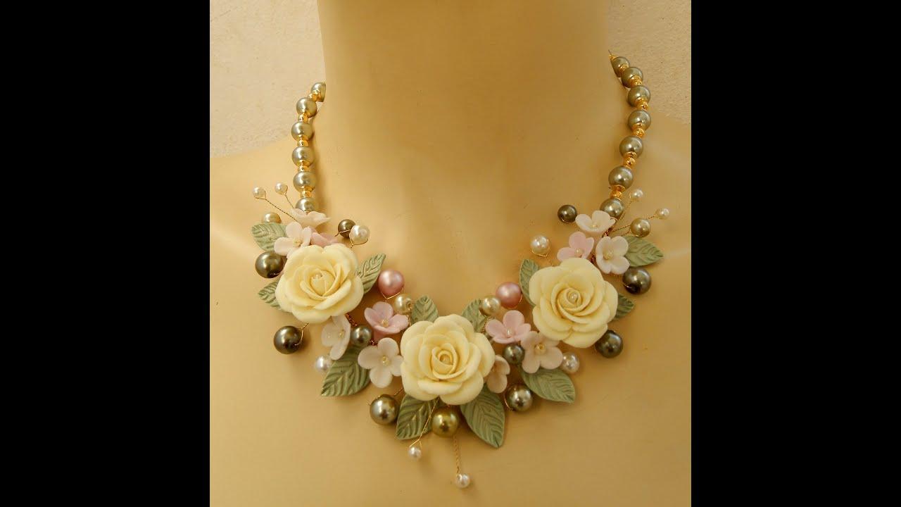 Etsy handmade flower jewelry