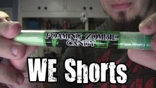 We Shorts - Foaming Zombie Candy & The Living Dead Black Cherry Candy Ashes