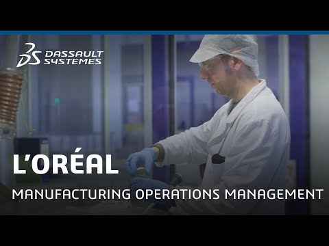 L'Oréal Success Video - Manufacturing Operations Management - Dassault Systèmes