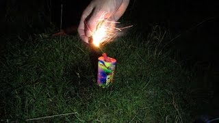 PLAYING WITH FIREWORKS! vlog