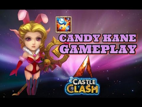 Castle Clash Candy Kane Gameplay! New Update!