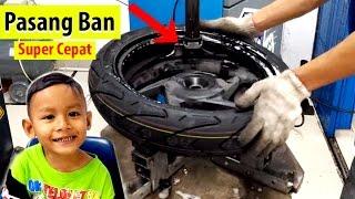Mau Tahu Proses Ganti Ban Tubeless? Inilah Alat Buka Ban | How To Change Tire tubeless