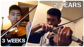 2 Years Violin Progress video - [Adult Beginner]