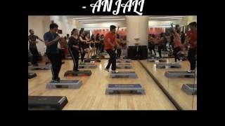 Hawa Hawa Mubarakan - BENCH AEROBICS(triple) BY ANJALI