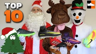 Top 10 Boots for Christmas 2016 - Best Xmas Soccer Cleats