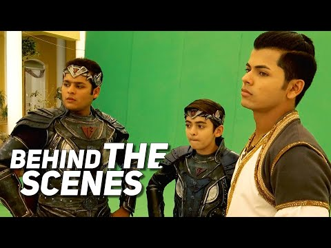 Behind The Scenes Contd | Maha Episode of Aladdin and Baalveer