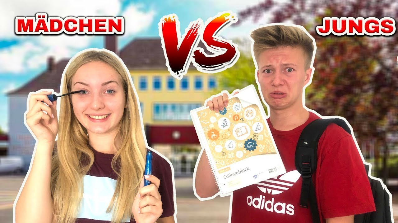 Mädchen vs Jungs - Back To School Morgenroutine📚 - YouTube