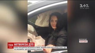 П'яна жінка протаранила фуру на Рівненщині