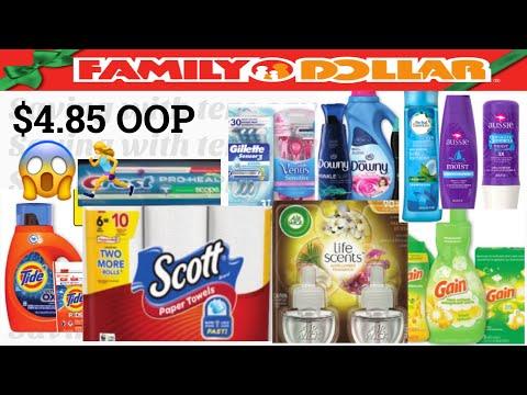 FAMILY DOLLAR $5 OFF 25 $4.85 OOP😱🤑SÚPER OFERTAS EN FAMILY DOLLAR SOLO $4.85 D SU 👜