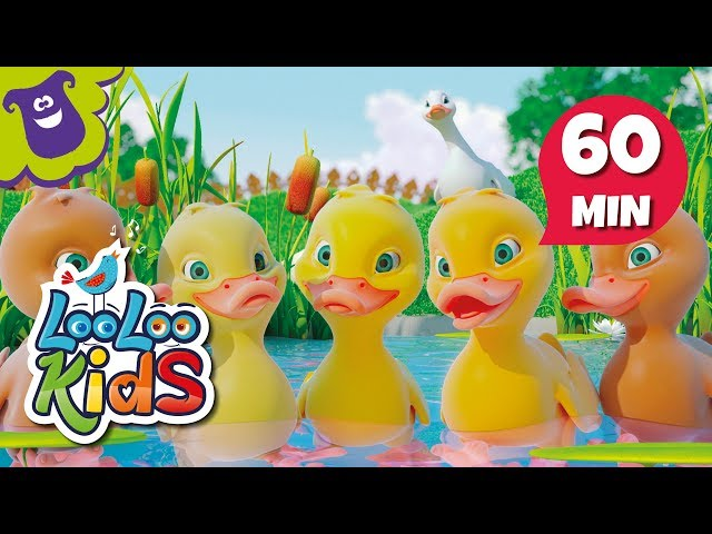 Five Little Ducks - Great Educational Songs for Children | LooLoo Kids
