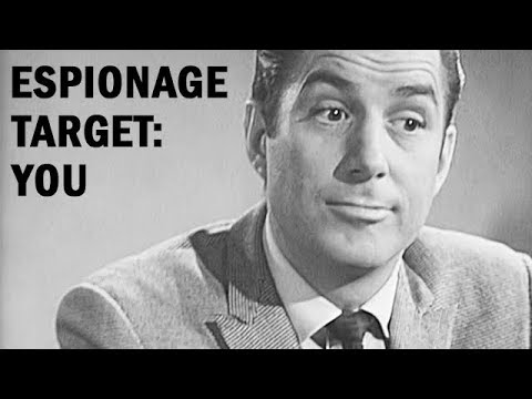 Espionage Target: You | US Armed Forces Training Film | 1964