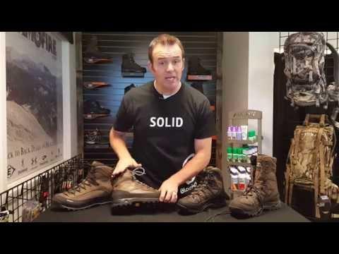 Crispi Un-Insulated Boots - 2016 Line Overview - BlackOvis